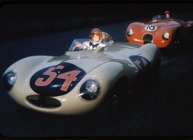 Jaguar D and C types