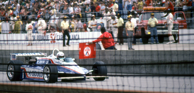 Penske Cosworth PC10, Rick Mears, Indianapolis Motor Speedway