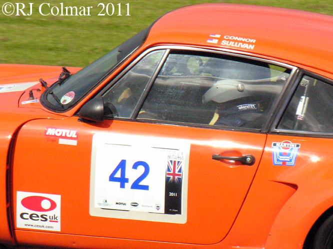 Porsche RSR, Castle Combe, Tour Britannia