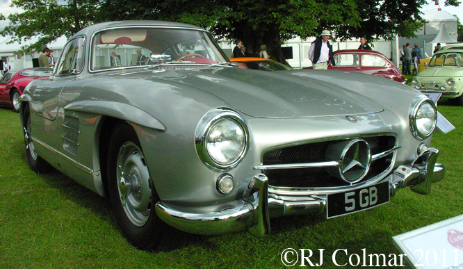 Mercedes Benz 300 SL, Goodwood FoS