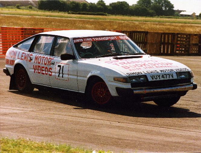 Simon Lewis, Rover SD1