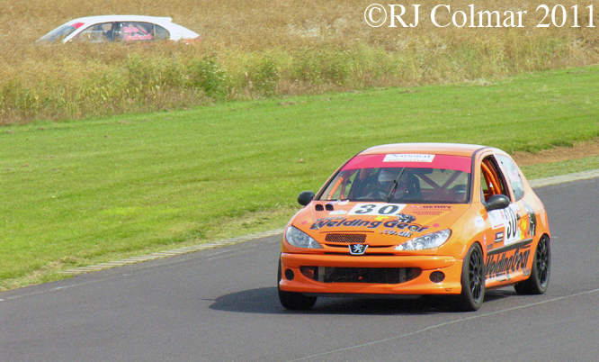 Tony Dolley, Peugeot 206 GTi, Castle Combe, BECRW