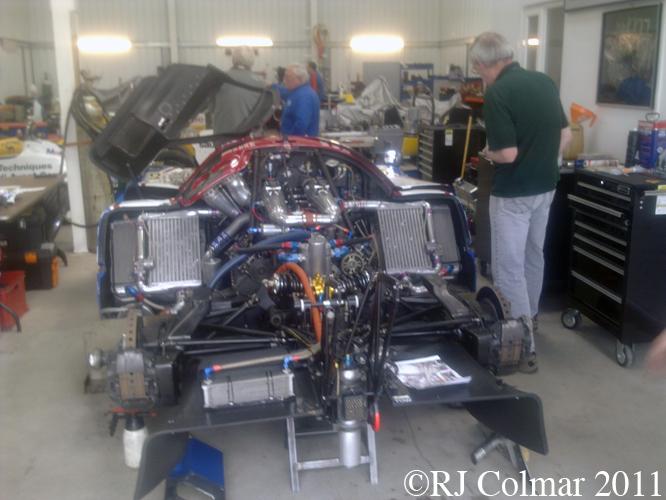 Nissan R90CK, CGA Engineering