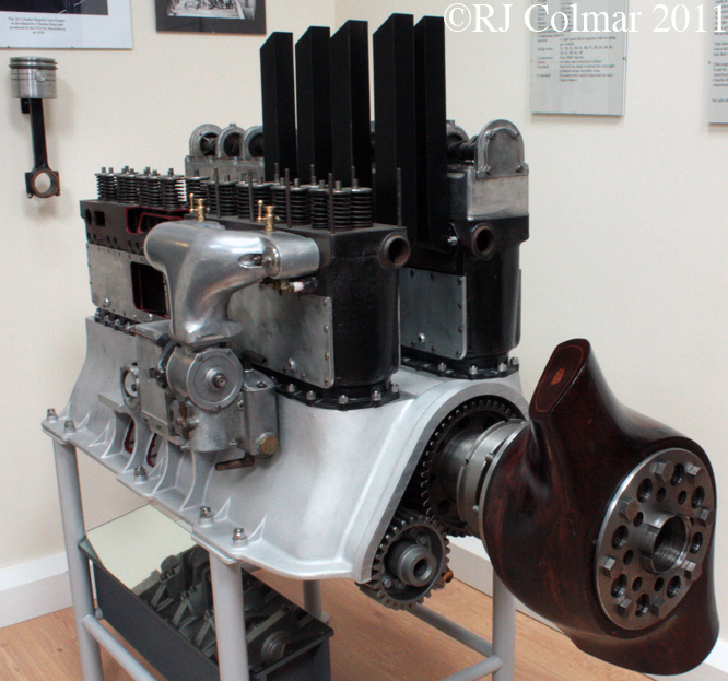 Bugatti King Aero engine