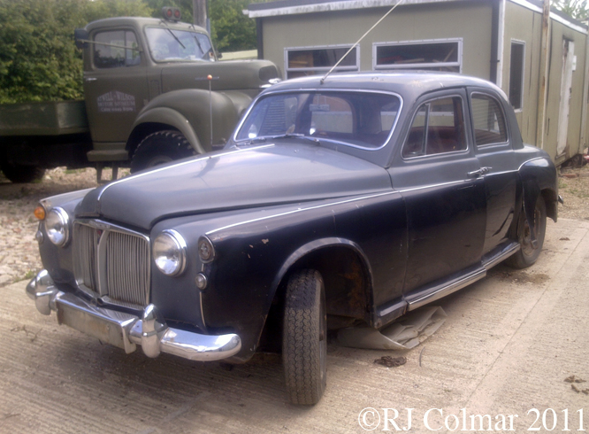 Rover P4 75, Atwell Wilson MM