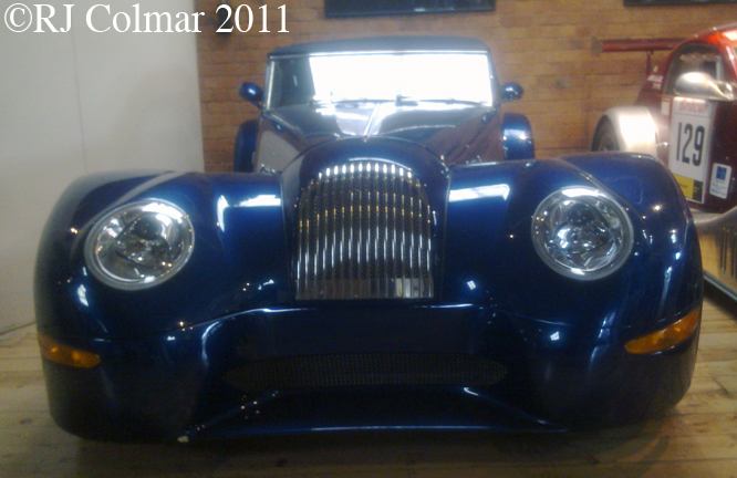 morgan aero 8 damaged