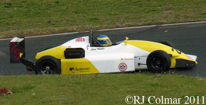 Formula Vauxhall Lotus S2, Mallory Park  