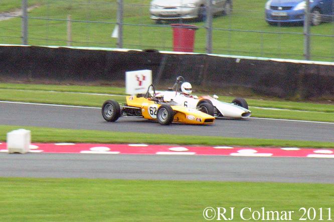Lola T200, Merlyn Mk11A, Gold Cup, Oulton Park