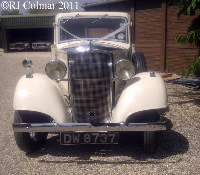 Vauxhall 14/6, Arwell Wilson MM