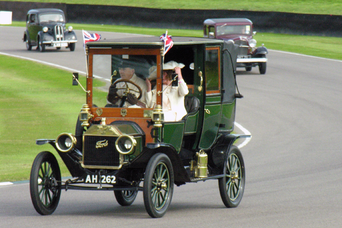 Ford Model T, Landaulet, 1912, Goodwood Revival