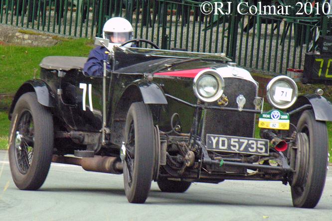 Nicola Quartermaine , Vauxhall 30/98, Loton Park