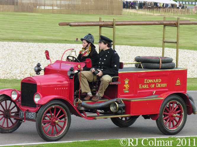Ford Model T, Fire Engine, 1923, Goodwood Revival