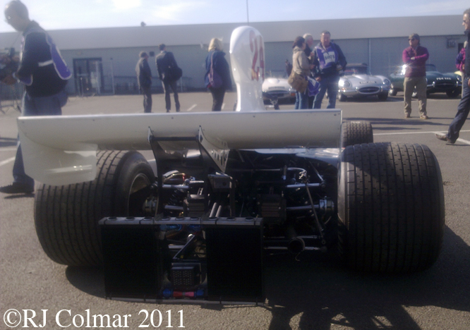 Hesketh Ford 308B, Silverstone