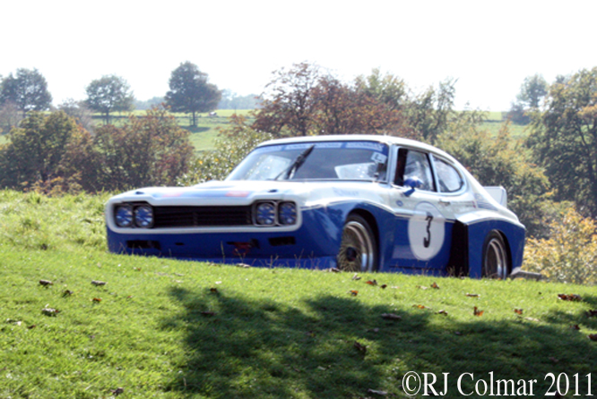 Ford Cologne Capri, Vince Woodman, Dyrham Park 