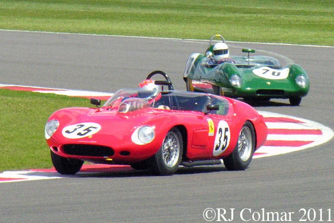 Ferrari 246S, Bobby Verdon-Roe, Siverstone Classic