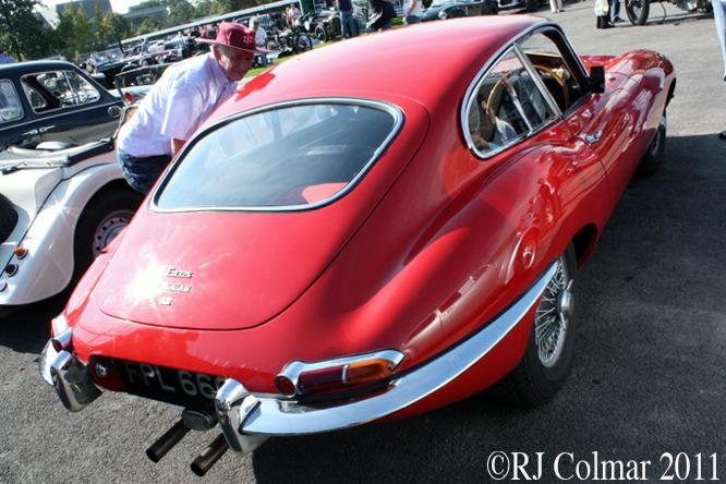E-Type Jaguar, Brooklands