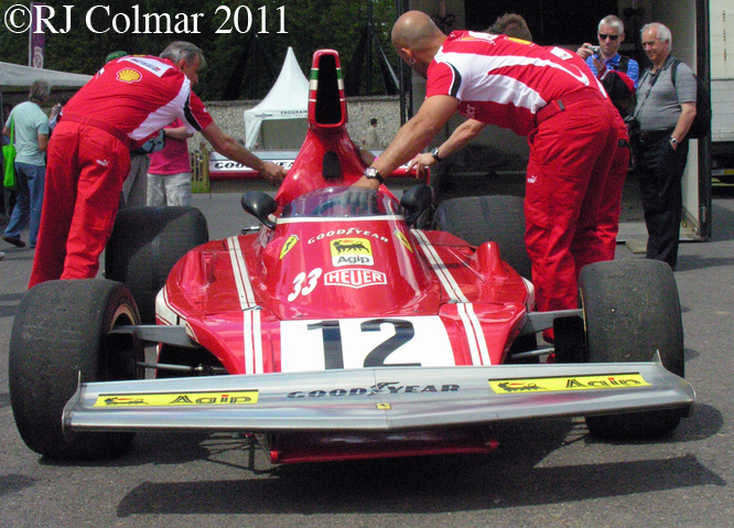 Ferrari 312 B3, Goodwood FoS