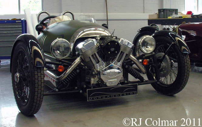 Morgan 3 Wheeler, Morgan Factory
