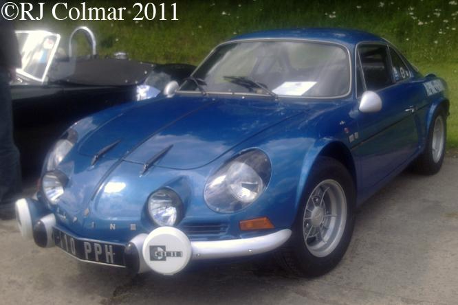 Alpine Renault, A110, 1600S, Castle Combe C&SCAD