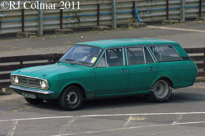 Ford Cortina Super, Shakespeare County Raceway