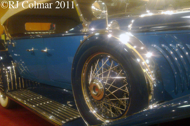 Duesenberg J Derham Tourster, Haynes International MM