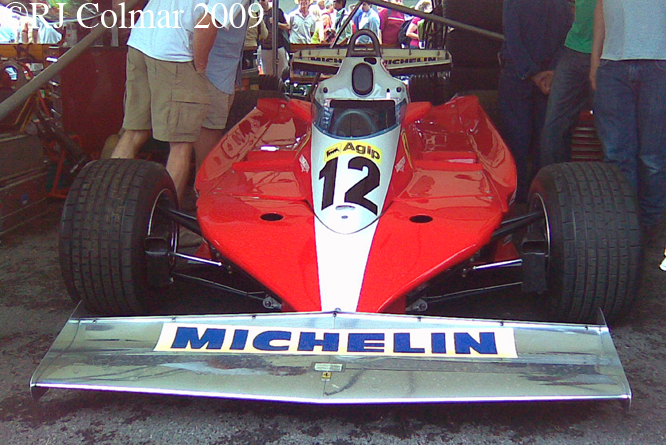 Ferrari 312 T3, Goodwood FoS