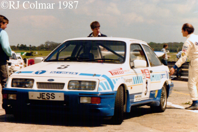 Ford Sierra RS Cosworth, Snetterton