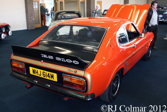 Ford Capri RS3100, Race, Retro