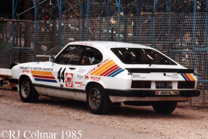 Ford Capri 2.8i, Brand Hatch