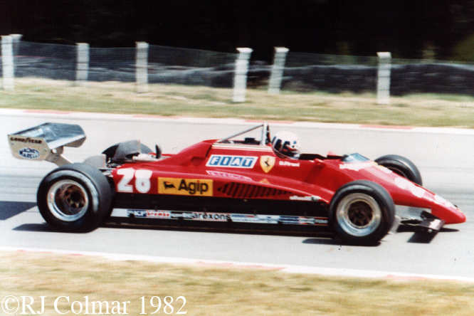 Ferrari 126 C2, Brands Hatch