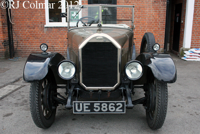 Humber 14/40, Brooklands