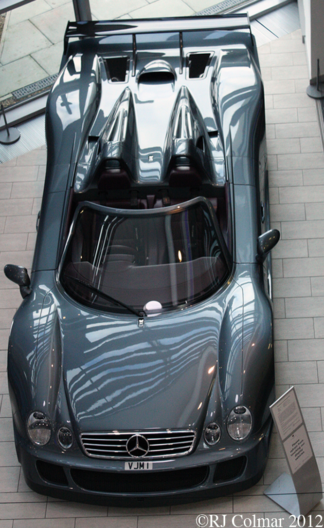 Mercedes Benz CLK GTR Roadster, Mercedes Benz World