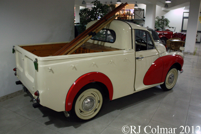 Morris Minor 1000 Pickup, Malta Cassic Car Collection