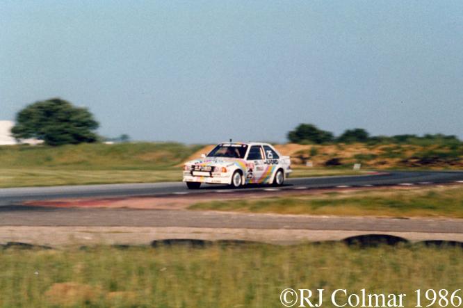 Ford Escort RS Turbo, Snetterton