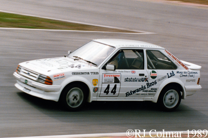 Ford Escort RS Turbo, Brands Hatch