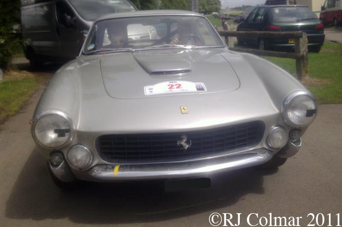 250 GT Lusso Pininfarina Berlinetta, Castle Combe, Tour Britannia