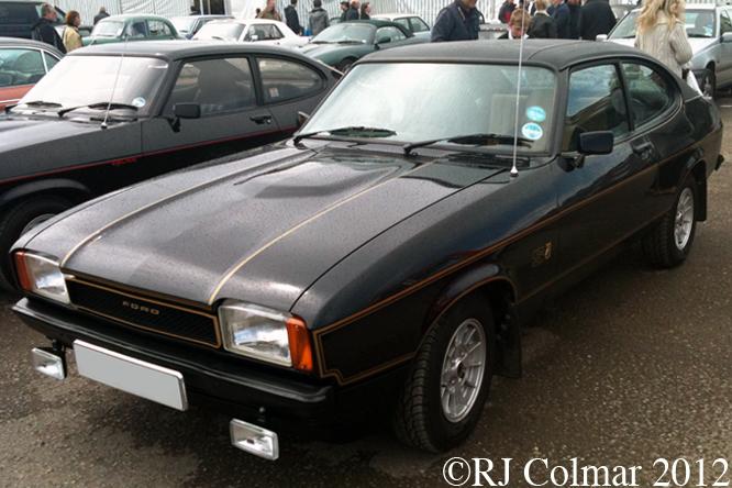 Ford Capri II 2.0S, Bristol Classic Car Show