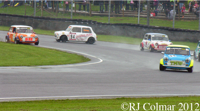 Mini Se7en &amp; Miglia, MTVL, Castle Combe, Race 2