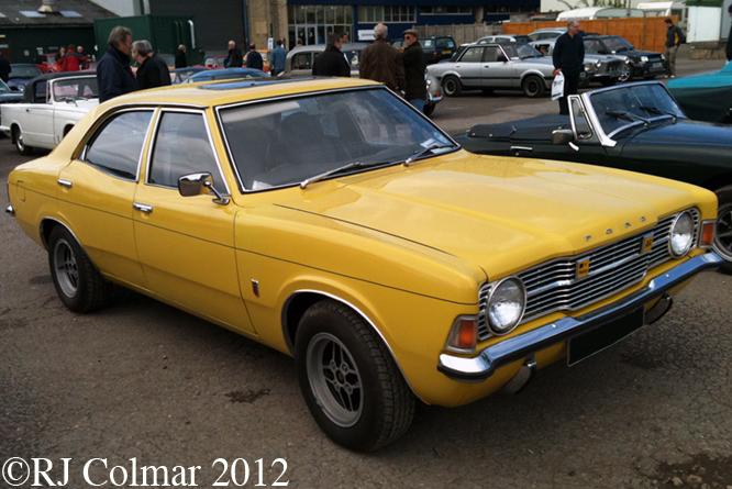 Ford Cortina Mk III XL, Bristol Classic Car Show