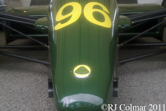 Lotus Cosworth 96T, Goodwood FoS