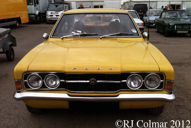 Ford Cortina Mk III GT, Bristol Classic Car Show