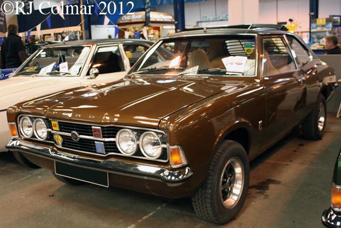 Ford Cortina Mk III GT, Bristol Classic Car Show