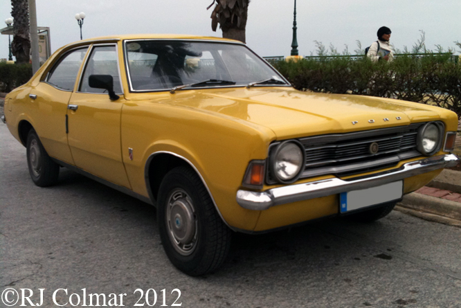 Ford Cortina 1300, Qwara, Malta