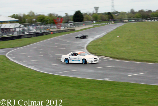 Nissan Skyline, Castle Combe, SPCAD