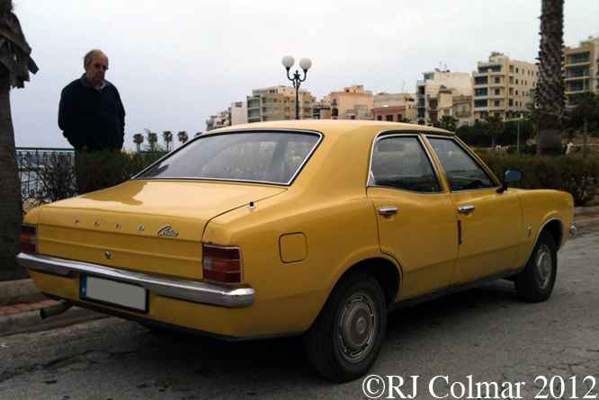 Ford Cortina 1300, Qwara, Malta
