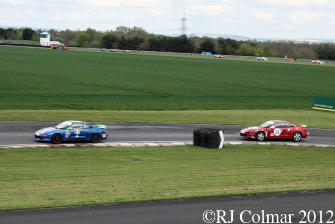 750MC Toyota MR2, MTVL, Castle Combe, Race 7