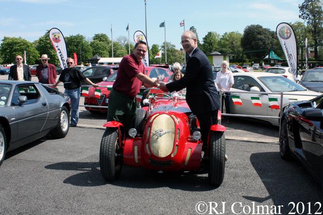 Lenham Healey ALFA Romeo Special, Simply Italian, NMM Beaulieu