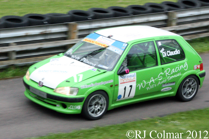 William Di Claudio, Peugeot 106 GTi, MTVL, Castle Combe