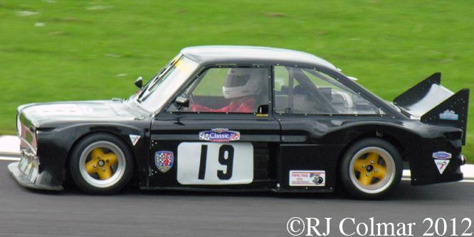 Hillman Imp, Martin Baker, Jubilee Race Day, Castle Combe