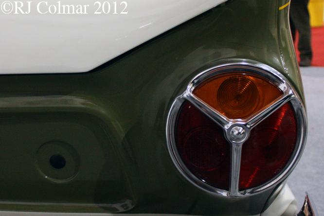 Ford Consul Cortina by Lotus, Race Retro